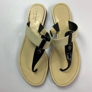Kate Spade ana sandals women's 7 patent leather